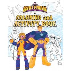 Bibleman Coloring And...
