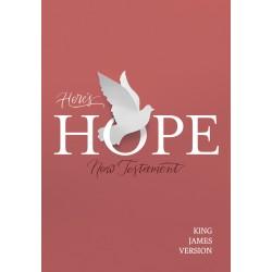 KJV Here's Hope New...