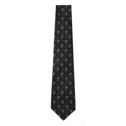 Tie-Floating Crosses-Polyester