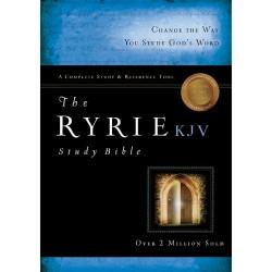 KJV Ryrie Study Bible-Black...
