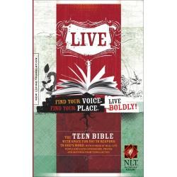 NLT Live Teen Bible-Hardcover