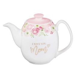 Teapot-I Love You  Mom