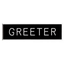 Badge-Greeter-Pin Back (5/8...