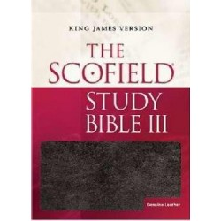 KJV Scofield Study Bible...