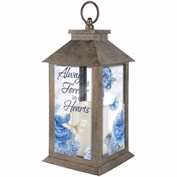 Lantern w/LED Candle &...