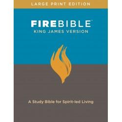 KJV Fire Bible/Large...