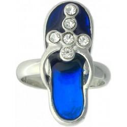 Ring-Blue Sandal-Cross...