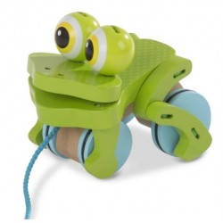 Toy-Frolicking Frog Pull...