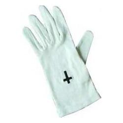 Gloves-Black Cross...