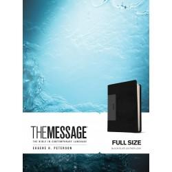 Message Bible-Black/Slate...