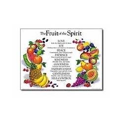Chart-Fruit Of The Spirit...