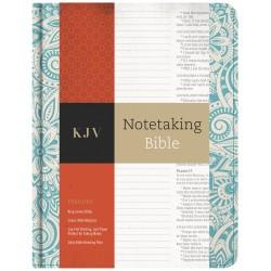 KJV Notetaking Bible-Blue...