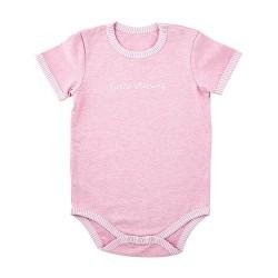 Baby-Snapshirt-Cream/Pink-L...