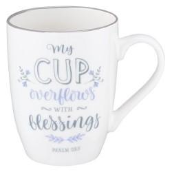 Mug-My Cup Overflows w/Gift...
