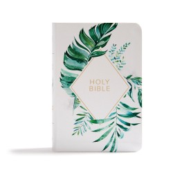 CSB On-The-Go Bible-White...