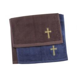 Towel-Pastor-Cross-Navy