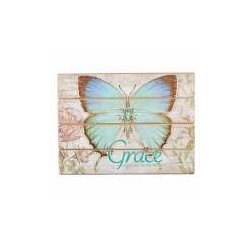 Wall Plaque-Butterfly...