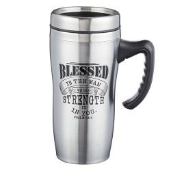 Travel Mug-Blessed w/Handle...