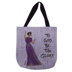 Tote Bag-Woven-To God Be...