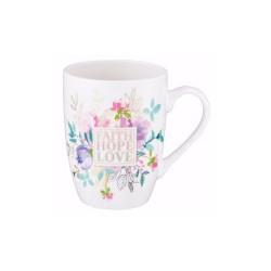 Mug-Faith Hope Love w/Gift Box
