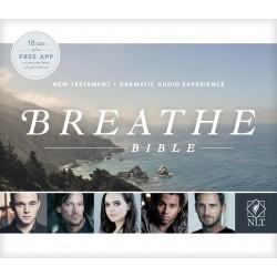 Audio CD-NLT Breathe Bible...