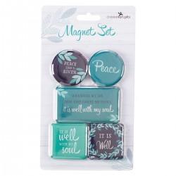 Magnet Set-Peace (Set Of 5)