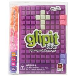 NLT Glipit Bible-Plum Silicone