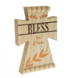 """Cross-Standing-Bless (8"""")"""