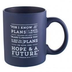 Mug-I Know The Plans-Navy Blue