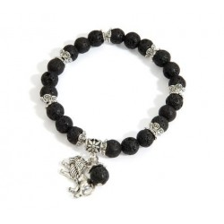 Bracelet-Lion Of Judah Lava...