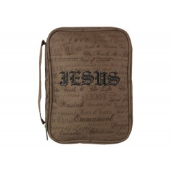 Bible Cover-Canvas-Names Of...