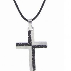 Necklace-Checkered Inlay...