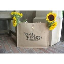 Tote-Speak Kindness-Jute...
