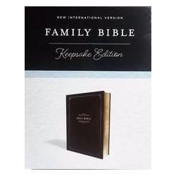 NIV Family Bible: Keepsake...
