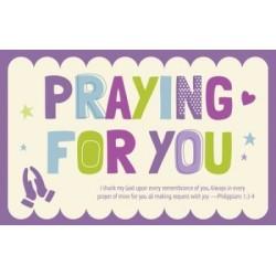 Postcard-Praying For You...