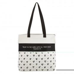 Tote Bag-Canvas-Trust In...