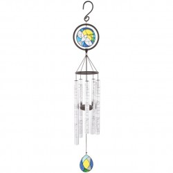 Wind Chime-Stained Glass...