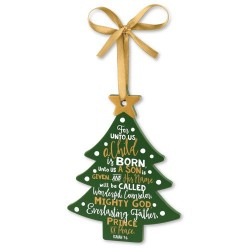 Ornament-Tree: Jesus (12367)