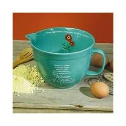 Mixing Bowl-w/Spout-Woman...