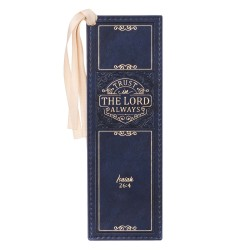 Faux Leather Bookmark Trust...