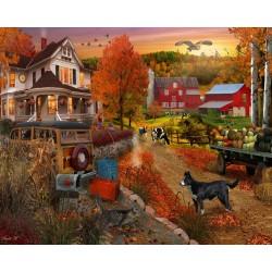Jigsaw Puzzle-Country Inn &...