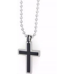 Pendant-Cross-Black &...