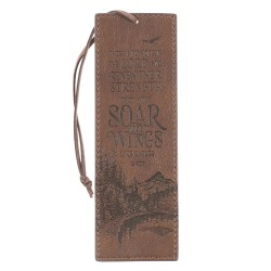 Faux Leather Bookmark Soar...