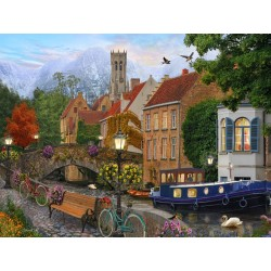 Jigsaw Puzzle-Canal Living...