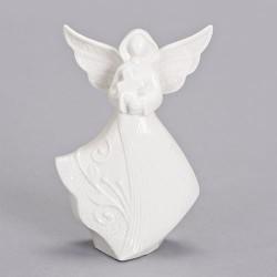 Figurine-Angel & Cross