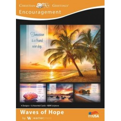 Card-Boxed-Waves Of Hope...
