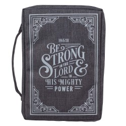Bible Cover Value LG Gray...