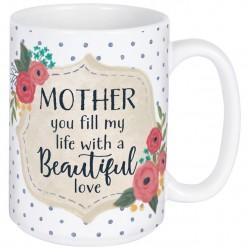 Mug-Mother Beautiful w/Gift...