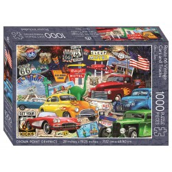 Jigsaw Puzzle-Route 66...