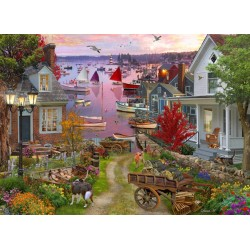 Jigsaw Puzzle-Evening In...